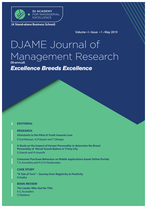 DJAME Journal of Management Research – DJ Academy for Managerial